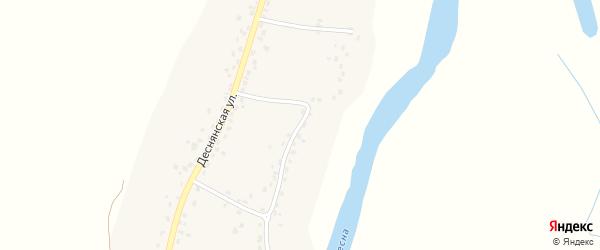 Набережная улица на карте села Лопуши с номерами домов