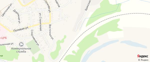Брянская улица на карте поселка Выгоничей с номерами домов