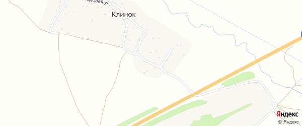 Октябрьская улица на карте деревни Клинка с номерами домов