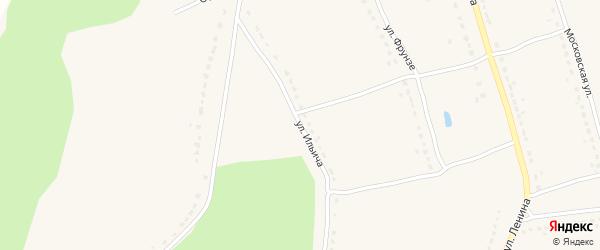 Улица Ильича на карте поселка Бытоши с номерами домов