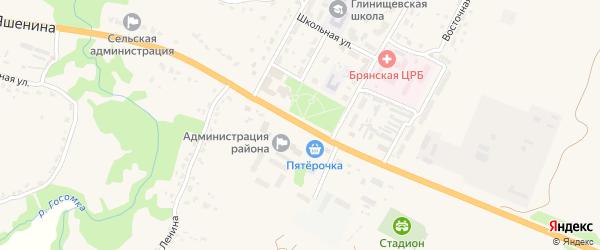 Территория Паи Журиничское на карте территории Журиничского сельского поселения с номерами домов