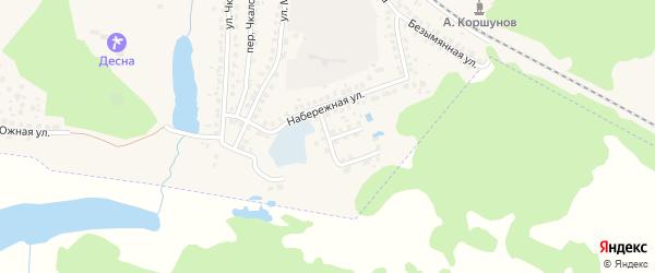 Речной переулок на карте Сельца с номерами домов