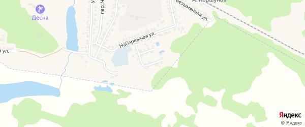 Речная улица на карте Сельца с номерами домов