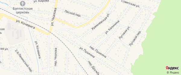 Территория Го Кирова на карте Сельца с номерами домов