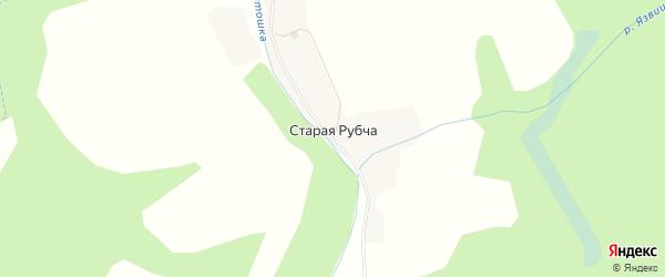 Карта деревни Старой Рубчи в Брянской области с улицами и номерами домов