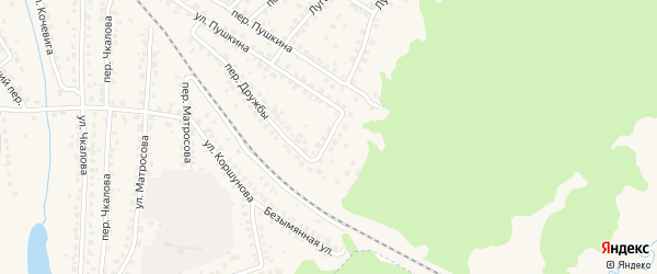 Улица Дружбы на карте Сельца с номерами домов