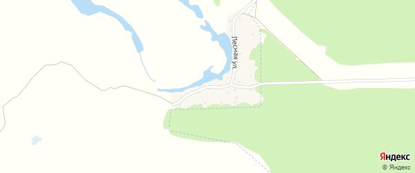 Лесная улица на карте поселка Выгоничей с номерами домов