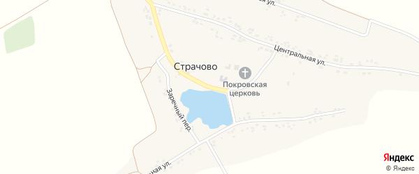 Улица Имени Мореева на карте села Страчово с номерами домов