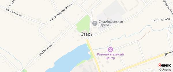 Площадь Площадь 30 лет Победы на карте поселка Стари с номерами домов