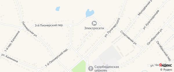 Улица Королева на карте поселка Стари с номерами домов
