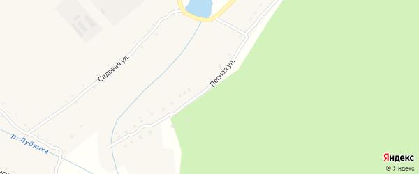 Лесная улица на карте села Подывотье с номерами домов