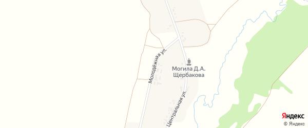 Молодежная улица на карте деревни Шилинки с номерами домов