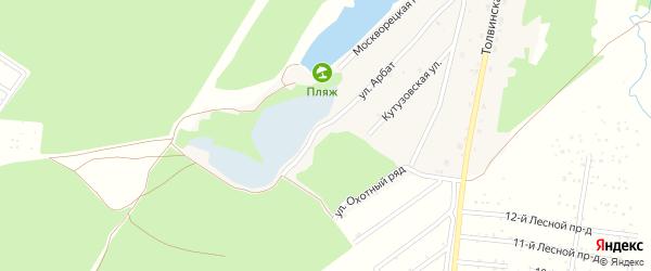 Таганская улица на карте территории ЖК Подмосковья с номерами домов