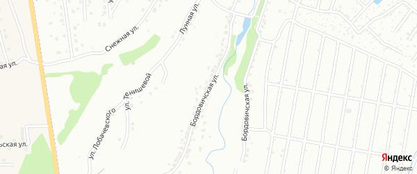 Бордовичская улица на карте Брянска с номерами домов