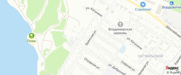 Брянская улица на карте Брянска с номерами домов