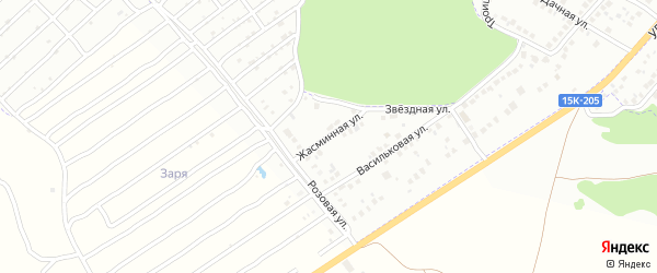 Жасминная улица на карте Брянска с номерами домов