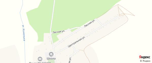 Лесная улица на карте Рабочего поселка с номерами домов