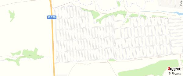 Сдт Строитель на карте территории Мичуринского сельского поселения с номерами домов