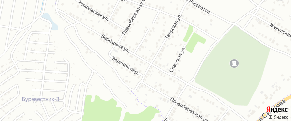 Березовая улица на карте Брянска с номерами домов