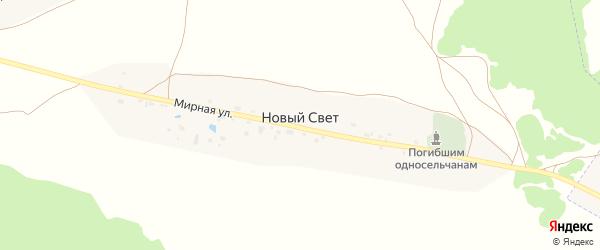 Территория Паи Новый путь на карте территории Глинищевского сельского поселения с номерами домов