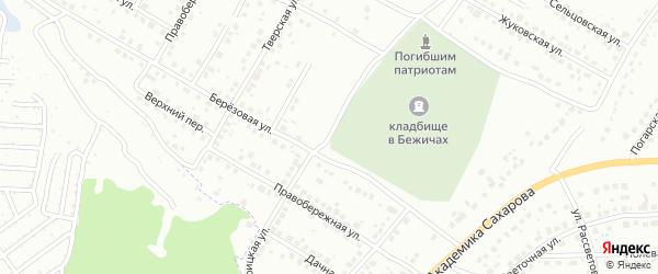 Троицкая улица на карте Брянска с номерами домов