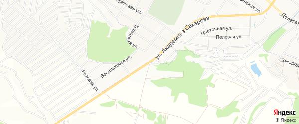 Карта населенного пункта 152 км автодороги Брянск-Смоленск в Брянской области с улицами и номерами домов