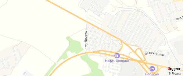 СТ сдт Радуга на карте территории Добрунского сельского поселения с номерами домов