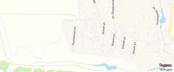 Рекламная улица на карте села Толмачево с номерами домов