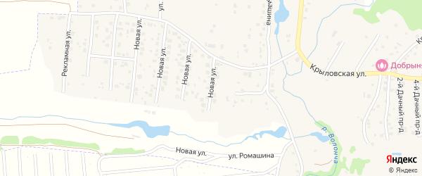 Новая улица на карте села Толмачево с номерами домов