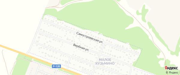 Самостроевская улица на карте Брянска с номерами домов