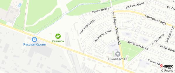Улица Менделеева на карте Брянска с номерами домов