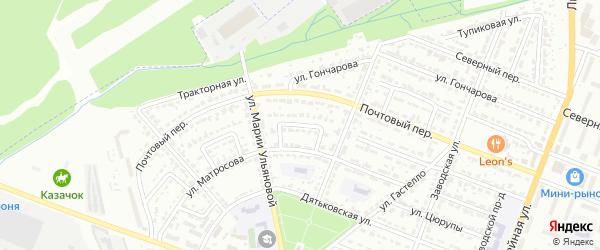 Улица Ульяны Громовой на карте Брянска с номерами домов