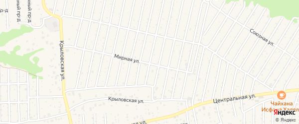 Территория сдт Глинищево на карте села Глинищево с номерами домов