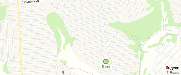 Территория ГСО Автомобилист на карте Брянска с номерами домов