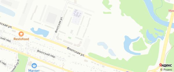Улица Братьев Ткачёвых на карте Брянска с номерами домов