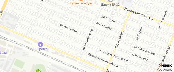 Улица Нахимова на карте Брянска с номерами домов