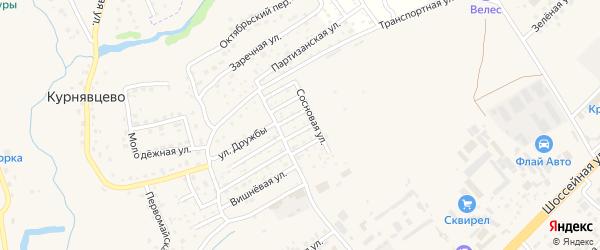 Территория ГСК Нива на карте Брянска с номерами домов