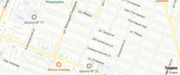 Улица Металлургов на карте Брянска с номерами домов