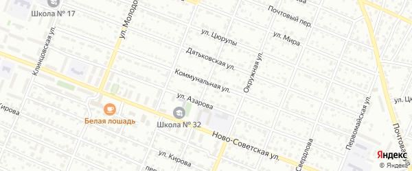 Улица Машиностроителей на карте Брянска с номерами домов