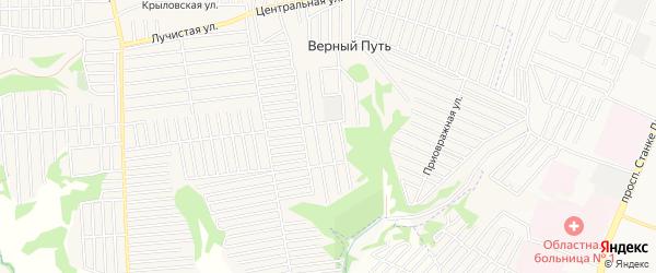 Территория СО Родничок на карте Брянска с номерами домов