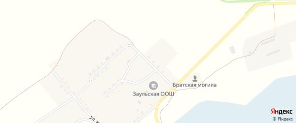 Кольцевая улица на карте села Заулье с номерами домов