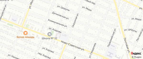 Окружная улица на карте Брянска с номерами домов