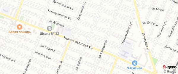 Улица Кубяка на карте Брянска с номерами домов