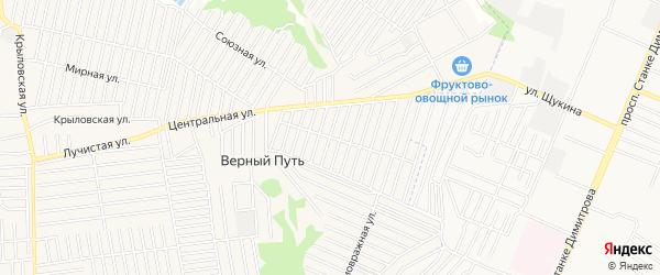 Территория СО Союз на карте Брянска с номерами домов