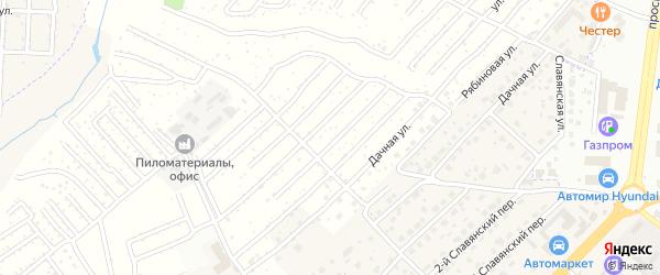 Территория сдт Чайка на карте села Супонево с номерами домов
