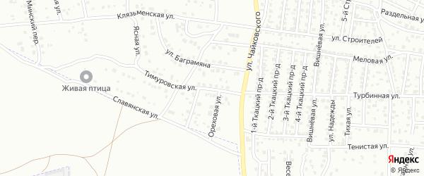 Тимуровская улица на карте Брянска с номерами домов