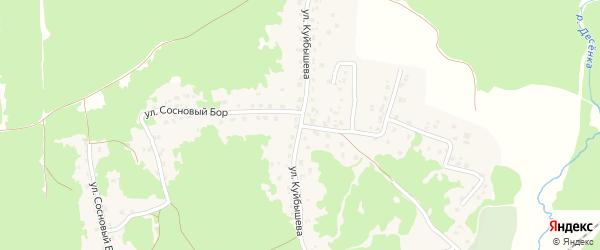 Улица Куйбышева на карте поселка Пятилетки с номерами домов