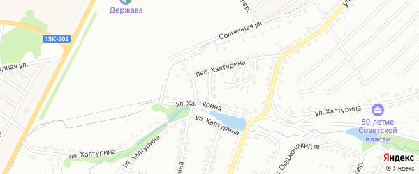 Озерный переулок на карте Брянска с номерами домов