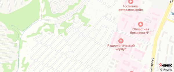 Со Дружба-2 ул Заречная территория на карте Брянска с номерами домов