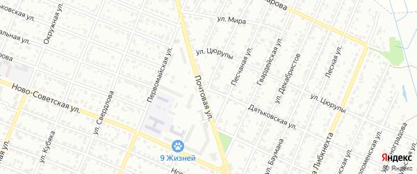 Колодезная улица на карте Брянска с номерами домов